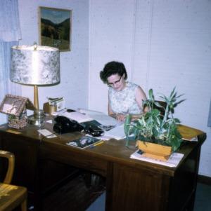 Mrs. Marion Ratchford, Home Center Hostess