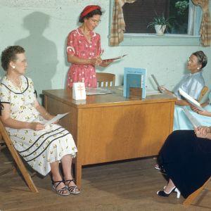 Leader program committee planning, health meet., Warren Co.