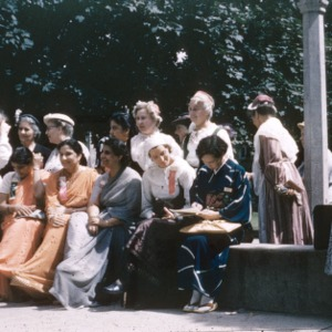 Group of foreign delegates