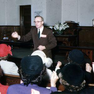 Music training sch., Dr. Hoffman, 1954