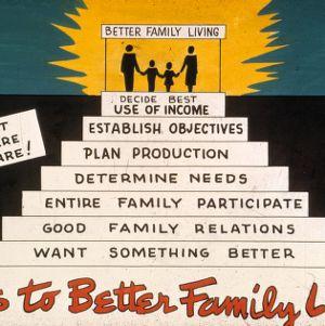 Steps to better family living