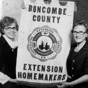 Buncombe County extension homemakers