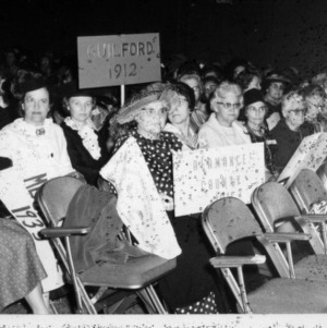 Women delegates from Guilford and Alamance counties at a Home Demonstration convention