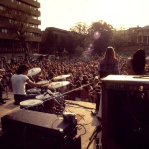 Rock concert at North Carolina State University