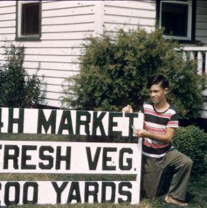 4-H market fresh vegetables