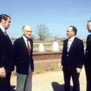 L. R. Harrill with Blalock, Black, and Stormer