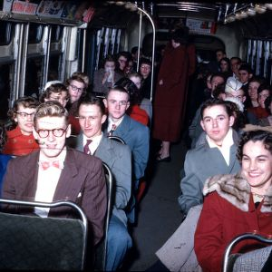 1951 4-H Congress bus riders