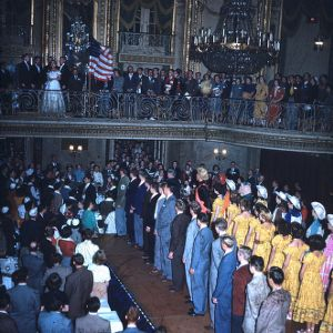 1951 4-H Congress banquet performance