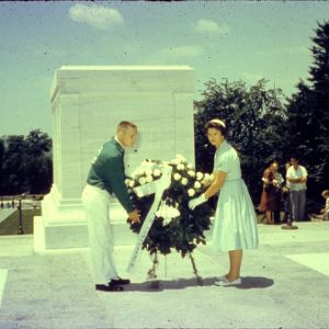 1958 4-H Congress Tomb of the Unknown Soldier