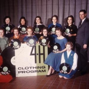 1959 4-H Congress clothing program