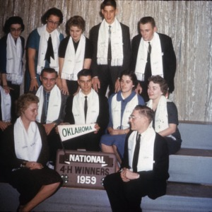1959 4-H Congress Oklahoma delegation