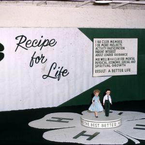 1960 4-H Congress recipe for life