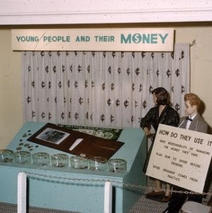 """1960 4-H Congress """"Young people and their money"""" model"""