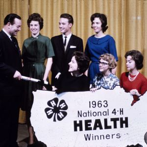 1963 4-H Congress health winners