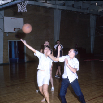 1964 4-H club week basketball
