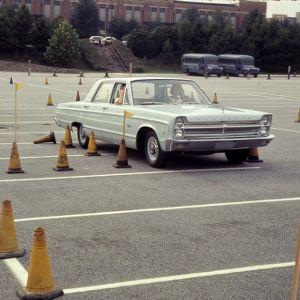 4-H Club week driving test