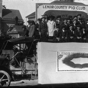 Lenoir County pig and corn club