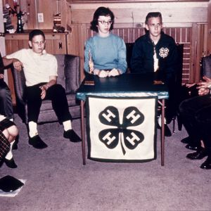 4-H home meeting