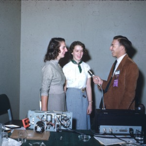 1951 4-H Congress radio interview