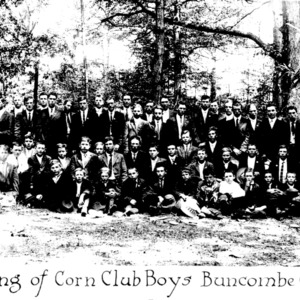 Meeting of the Corn Club Boys of Buncombe County
