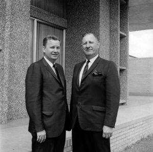 Willis R. Casey and Roy Clogston