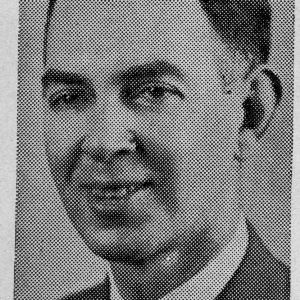 Clarence M. Asbill portrait