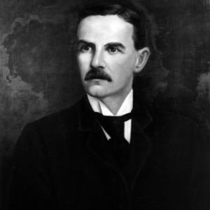 D. H. Hill portrait painting