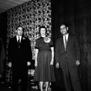 I. T. Littleton, Mrs. I. T. Littleton, and other at Harlay Library