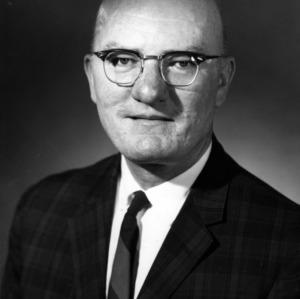 Dr. Carlton J. Leith portrait