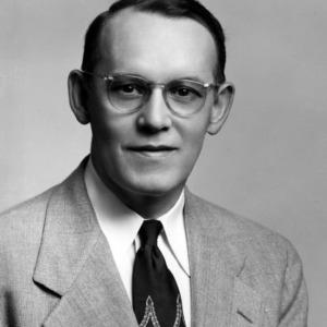 Professor Clyde A. McKeeman portrait