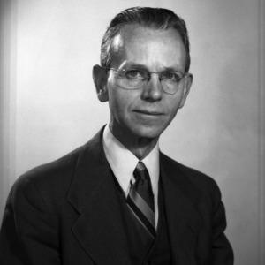 Dr. W. D. Miller portrait