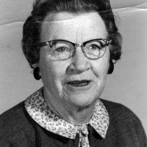 Charlotte Nelson Patterson portrait