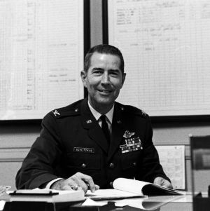 Colonel Samuel C. Schlitzkus of the Air Force ROTC