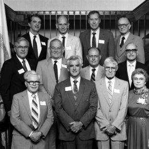 Faculty retiring in 1989