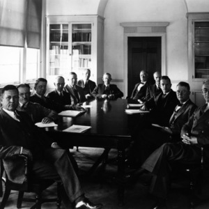 Faculty Council, approximately 1935