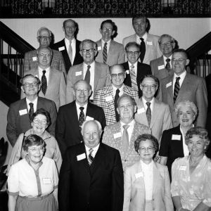 1982 retirees -Taken at Chapel Hill Reception