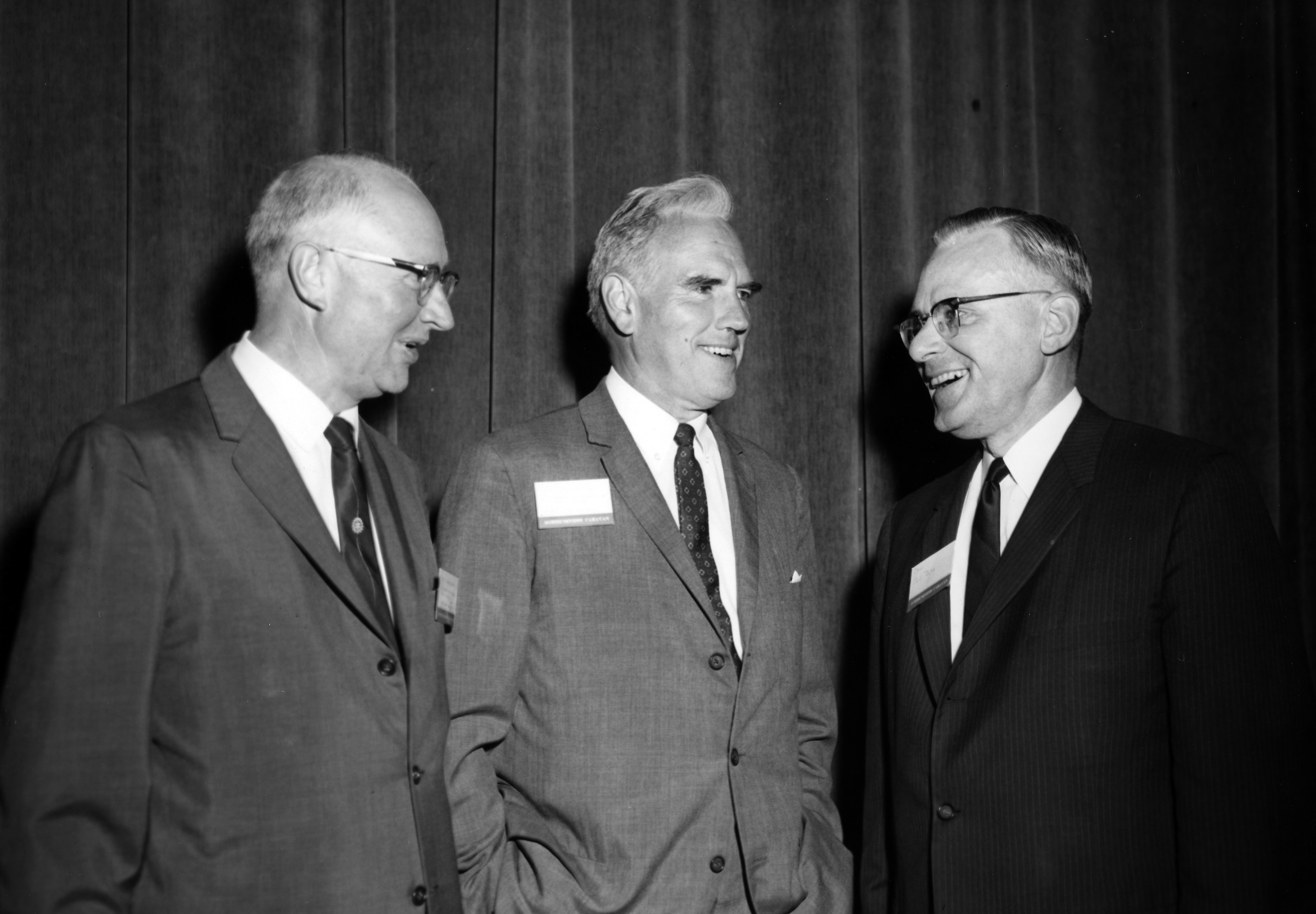 Brooks James , John T. Caldwell and Earl L. Butz
