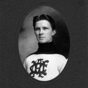 Wm Richardson, Jr., Captain Track Team 1904