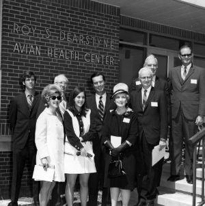 Dearstyne Avian Health Center Dedication