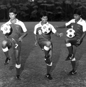 Three N. C. State soccer players