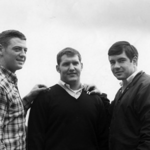 N. C. State football Tri-Captains, 1969