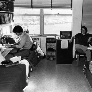 David Green and John Bateman in Bragaw dorm
