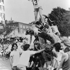 Pyramid of students