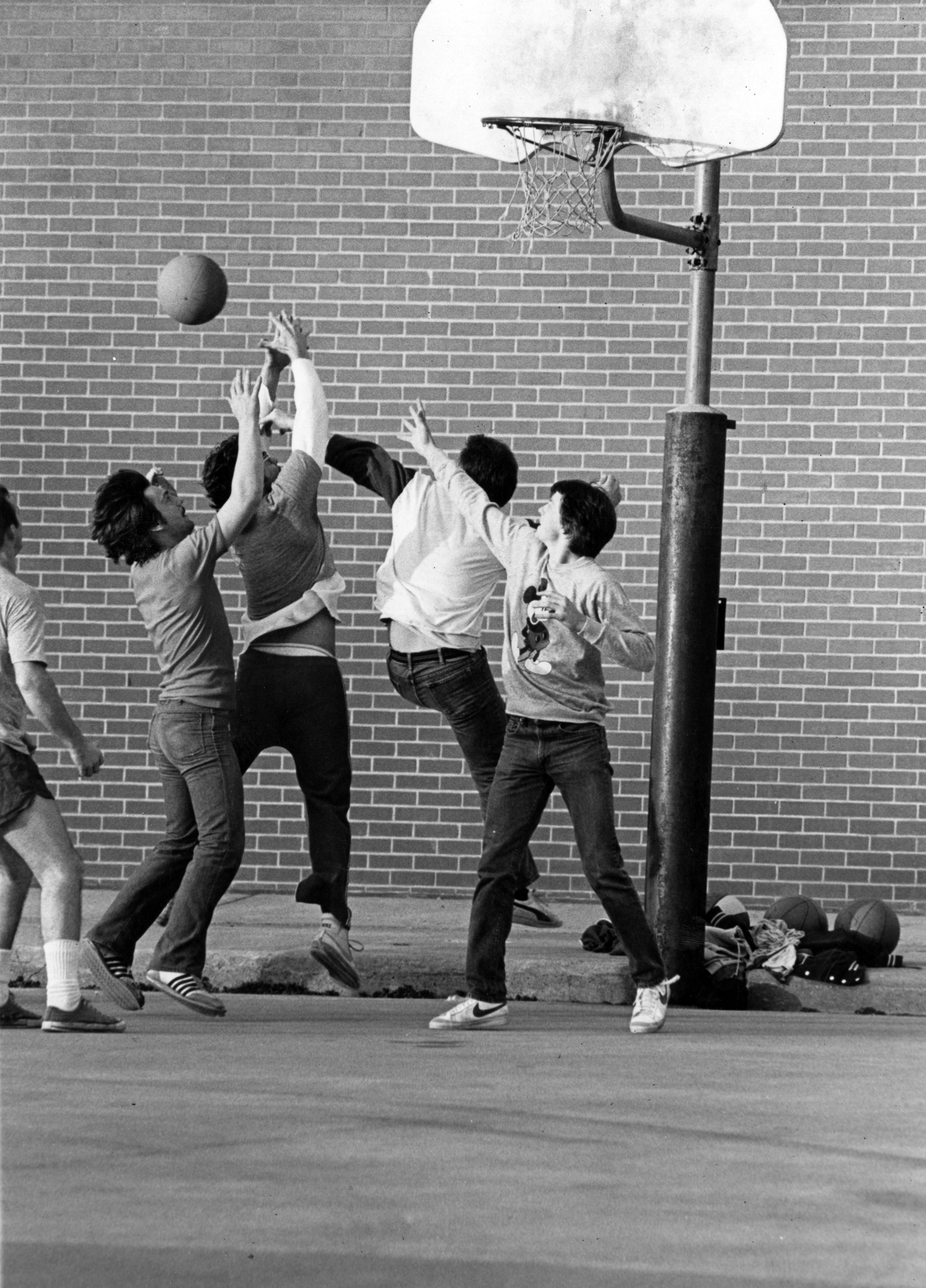 Pick-up Game of Basketball