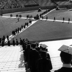 1987 Centennial Graduation Ceremony