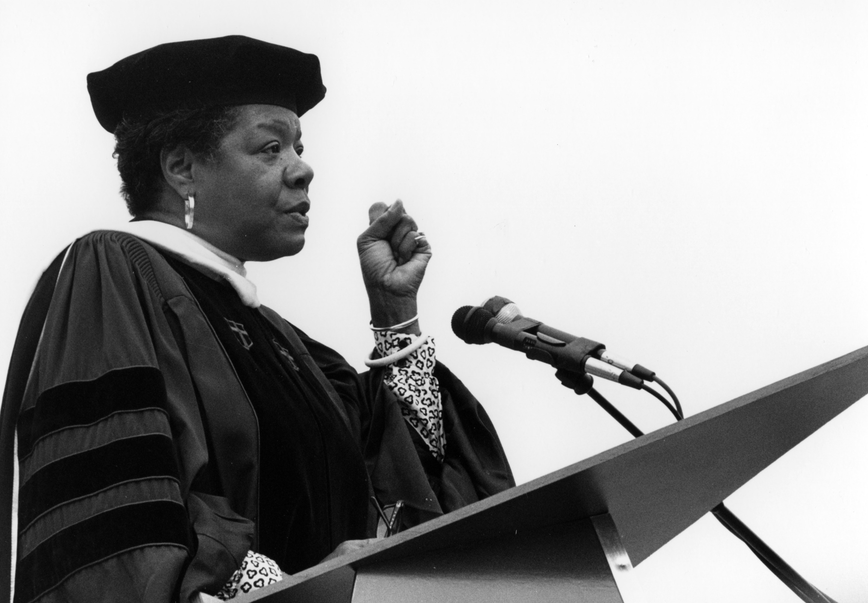 graduation essay by maya angelou