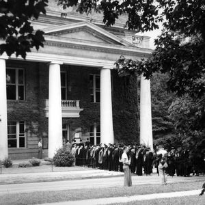 Summer school commencement, 1949