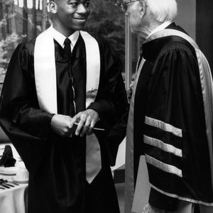 Student speaker, 1992 commencement