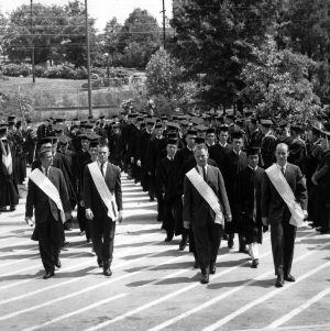 1958 Graduation