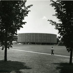 Harrelson Hall under construction